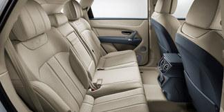 05 bentayga hybrid rear interior seats w