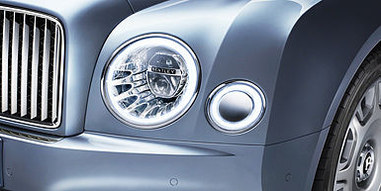 05 mulsanne front exterior detail with h