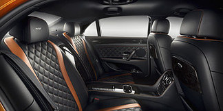 02 flying spur w12 s rear cabin interior