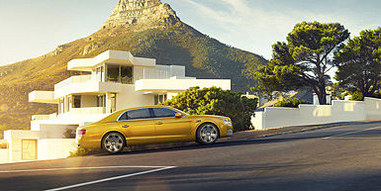 01 flying spur and luxury houses at gene