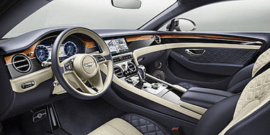 06 continental gt front interior featuri