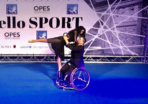Gala dello sport Opes Italia (2019)- Nuvole bianche