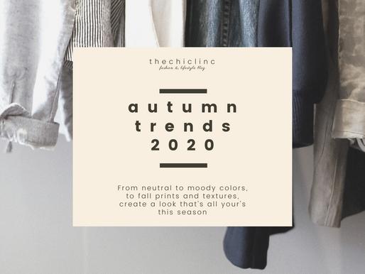 autumn trends 2020