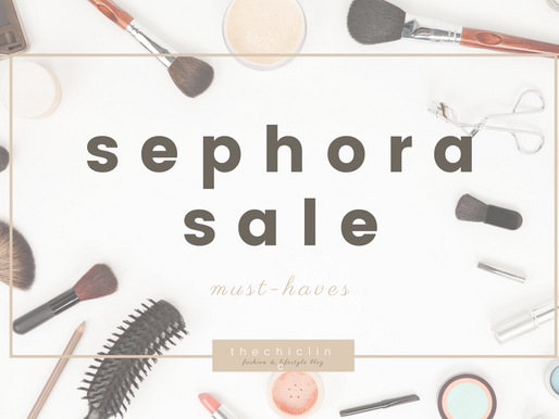 sephora sale: must-haves