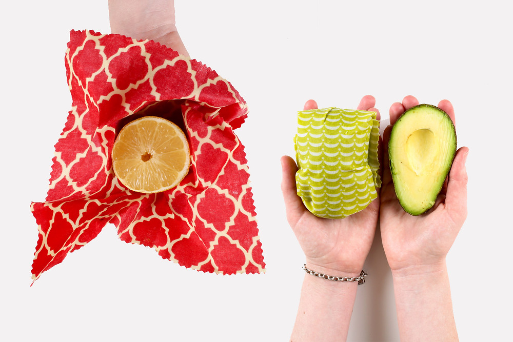 Beeswax Wraps to Replace plastic wrap in the kitchen