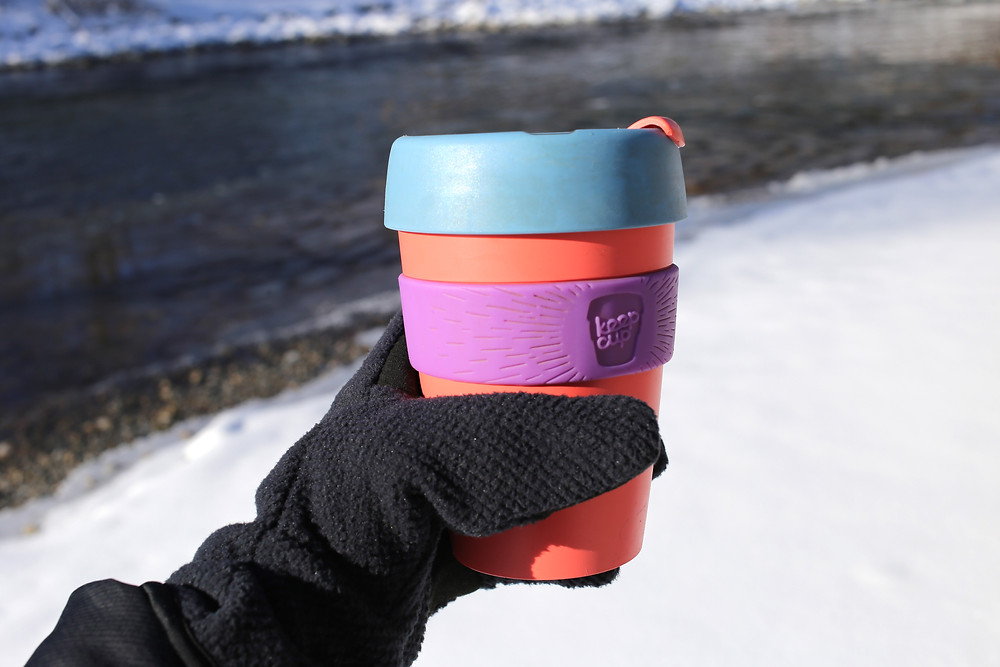 Use a Re-usable keep cup for your daily coffee