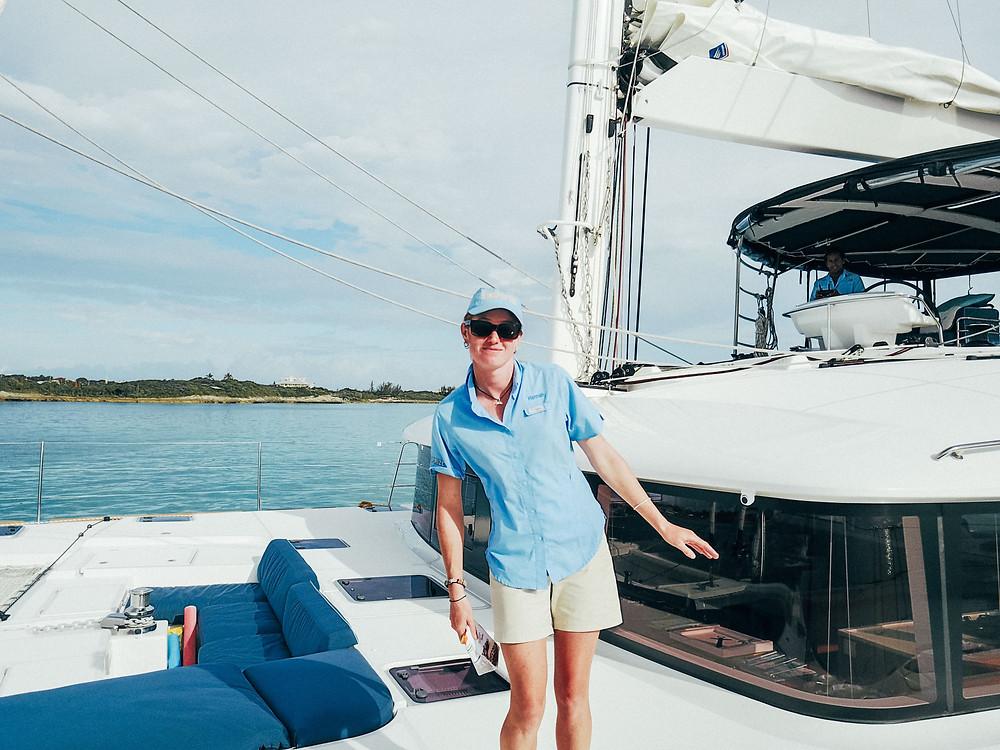 Lagoon Catamaran, Bahamas