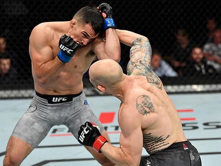 UFC SACRAMENTO BONUSES: FABER, EMMETT, FILI, MARTINEZ GET $50K PERFORMANCE CHECKS