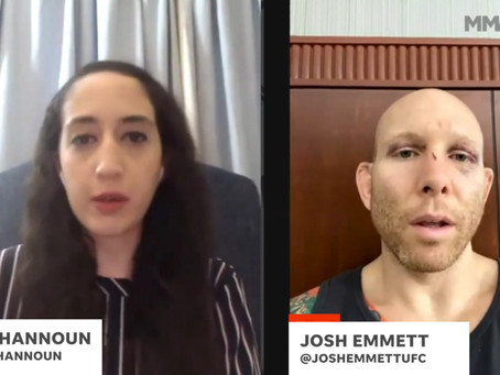 Josh Emmett confident that with discipline he could avoid long layoff