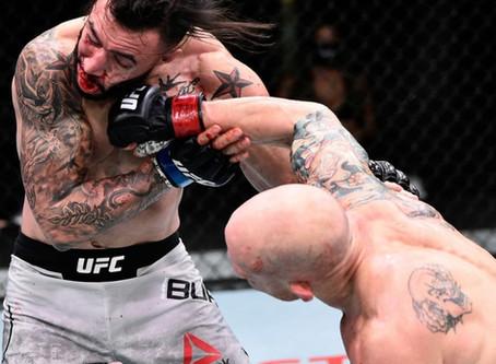 UFC Fighters REACTING TO JOSH EMMETT'S FIGHT with SHANE BURGOS
