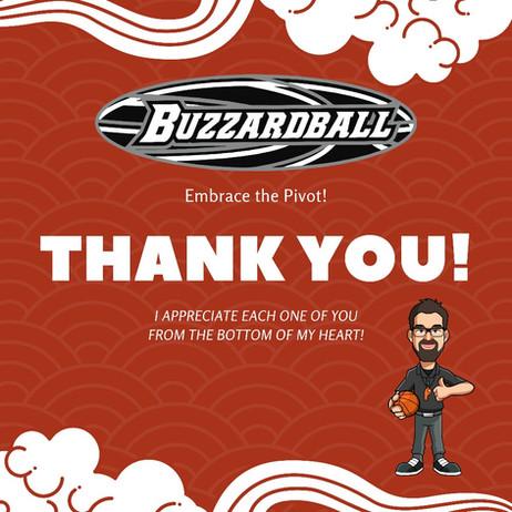 Buzzardball Games | Thank You!
