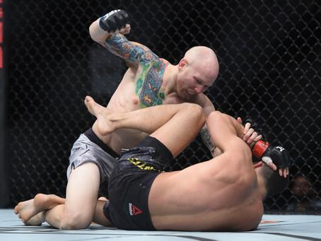 UFC Fight Night 118 results: Josh Emmett posts 30-25 score on Felipe Arantes