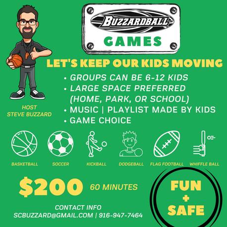 Buzzardball Games