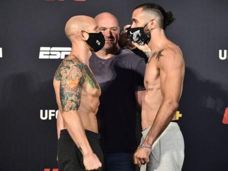 UFC on ESPN 11: Josh Emmett Tops Shane Burgos in All-Out War