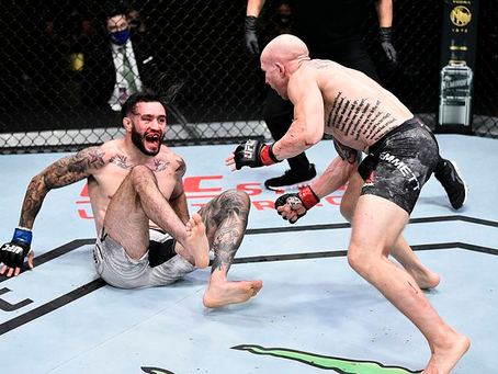 Highlights! Josh Emmett scores two knockdowns to edge out Shane Burgos at UFC on ESPN 11
