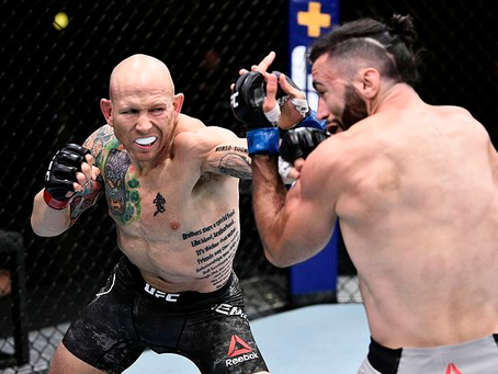 JOSH EMMETT FRUSTRATED WITH STANDING IN UFC: 'NOBODY PUSHES ME'