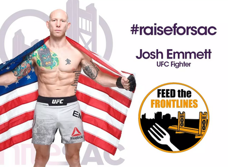 UFC Fighter Josh Emmett and Feed the Frontlines 916