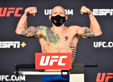 UFC: Josh Emmett ready for the top five