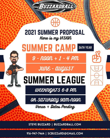 Summer Camp + League Update 2021