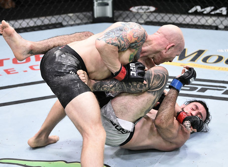 UFC on ESPN 11 results: Josh Emmett batters Shane Burgos in incredible brawl