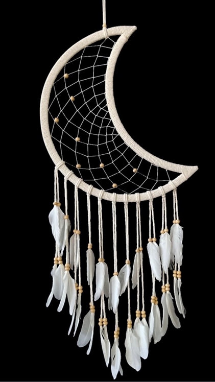 Crescent Moon Dream Catcher
