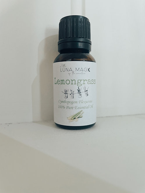 Lemongrass Pure Essential Oil 15ml