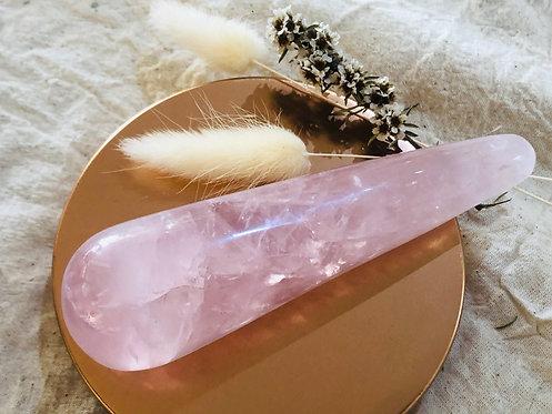 Rose Quartz Crystal Wands