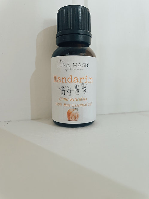 Mandarin Pure Essential Oil 15ml