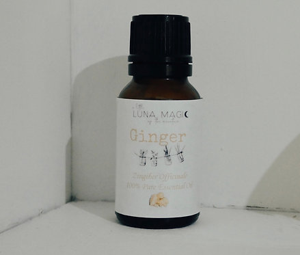 Ginger Pure Essential Oil 15ml