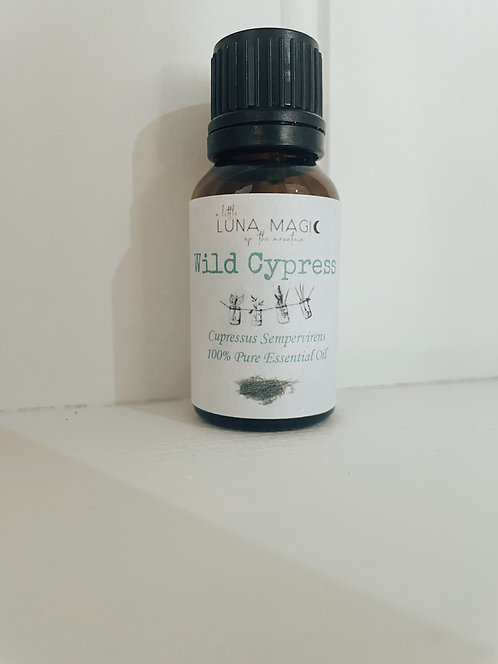 Wild Cypress Pure Essential Oil 15ml