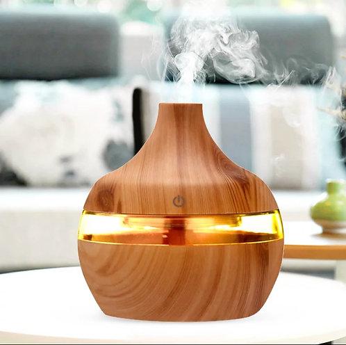 Wooden Look Mini Humidifier/Diffuser