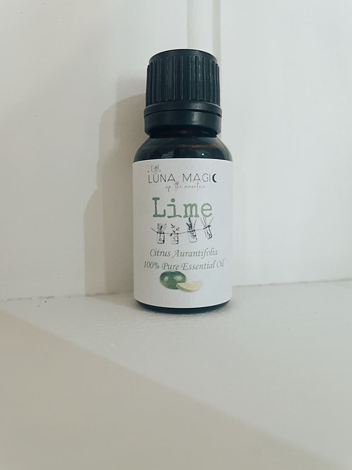 Lime Pure Essential Oil 15ml