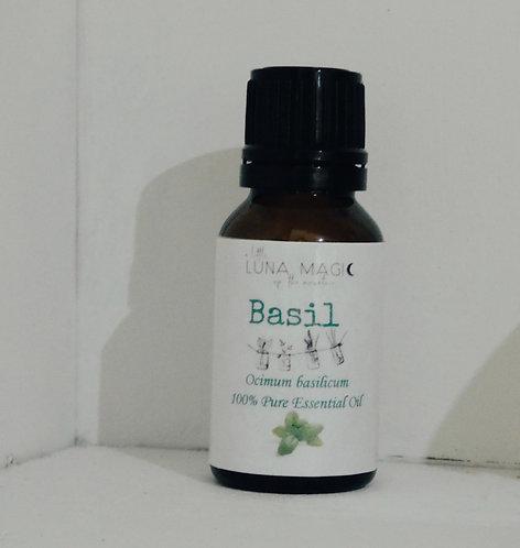 Basil Pure Essential Oil 15ml