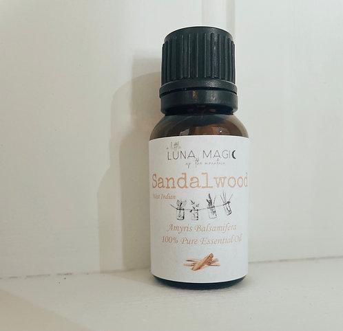 Sandalwood Pure Essential Oil 15ml