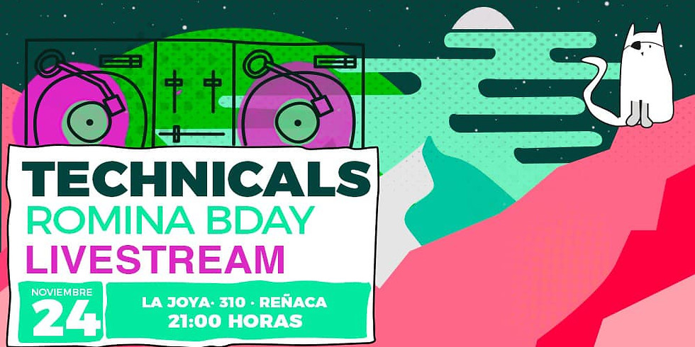 Technicals  Party / Romina B Day