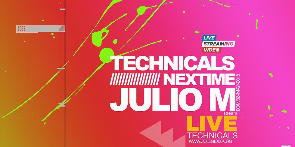 Technicals nextime , Live Streaming Video ft Julio M