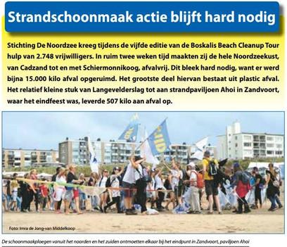 Voorpagina Zandvoortse Courant