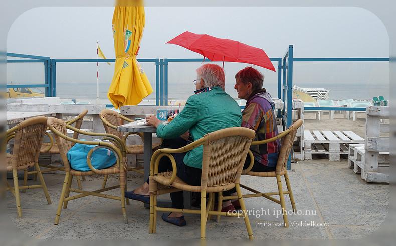 Weer of geen weer = strandweer!