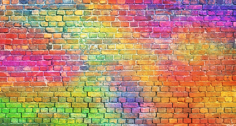 painted brick wall, abstract background