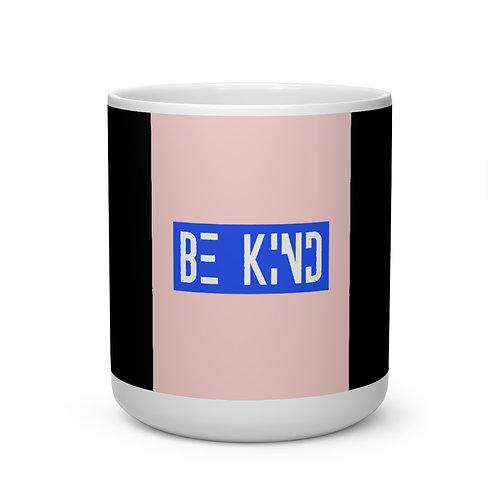 Be Kind Heart Shape Mug