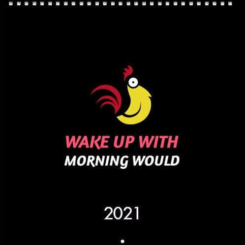 Morning Would 2021 Inspirational Calendar 12 X 12