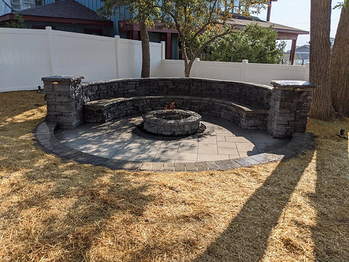 Recessed Natural Gas Firepit