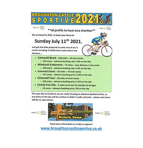 Poster supplied by Sportive 2021