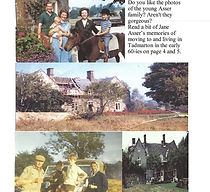 Pictures of Asser Family and Tadmarton Manor House