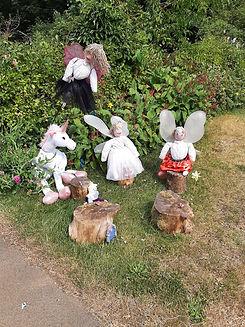 Unicorn and Fairies Scarecrow Winner