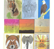 selection of paintings by Jane O'Sullivan