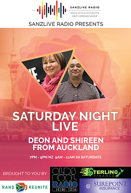 Saturday Night Live with Deon and Shireen