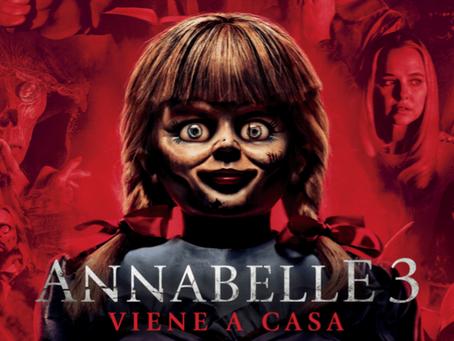 Enfrenta Tus Fantasmas: Annabelle 3, Viene A Casa