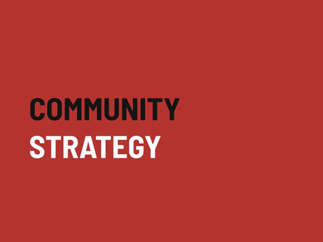 6 Steps to create an effective community strategy