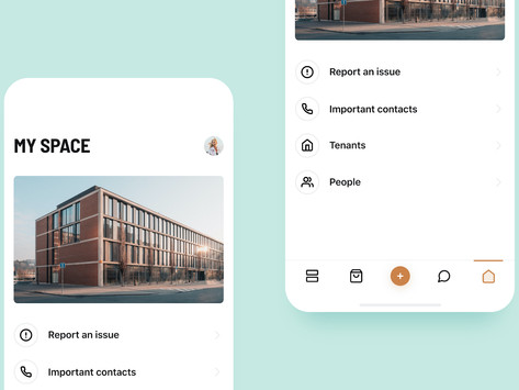 Reporting and all important contacts: My space enables users to find everything at one place